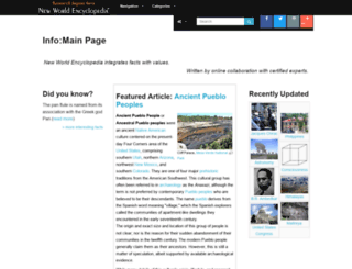 web.newworldencyclopedia.org screenshot