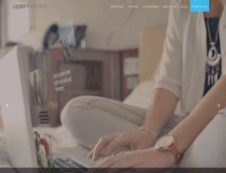 web.opennemas.com screenshot