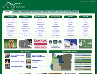 web.oregon.com screenshot