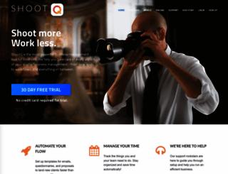 web.shootq.com screenshot