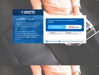 web.unapec.edu.do screenshot