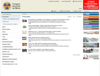 web.unimol.it screenshot
