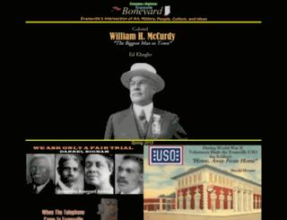 web.usi.edu screenshot