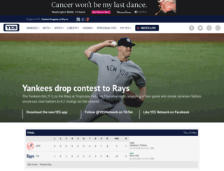 web.yesnetwork.com screenshot