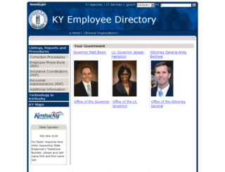 web1.ky.gov screenshot