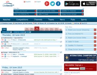 web1.livesoccertv.com screenshot