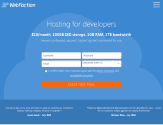 web129.webfaction.com screenshot