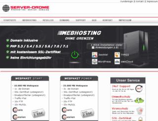 web18.server-drome.info screenshot