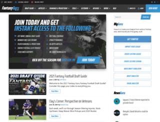 web2.fantasyguru.com screenshot