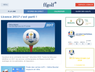 web2.ffgolf.org screenshot