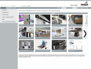 web2.hettich.com screenshot