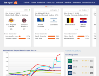 web2.live-sport.org screenshot