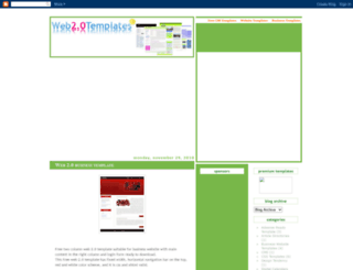 web20templates.blogspot.com screenshot