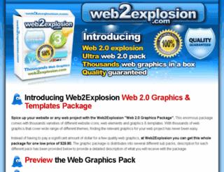 web2explosion.com screenshot