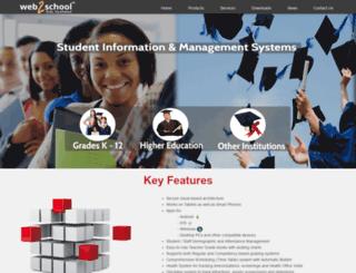 web2school.com screenshot