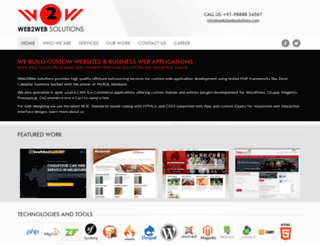 web2websolutions.com screenshot