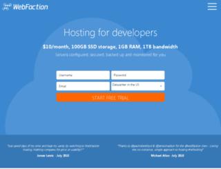 web342.webfaction.com screenshot