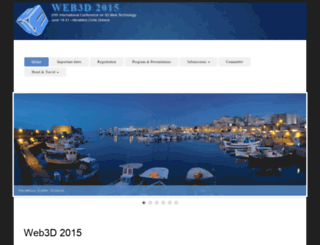 web3d2015.web3d.org screenshot