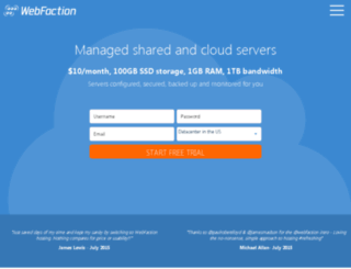 web454.webfaction.com screenshot