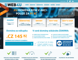 web4you.cz screenshot