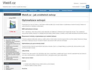 web5.cz screenshot