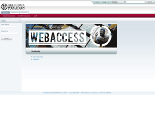 webaccess.okwu.edu screenshot