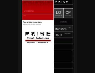 webaccess.se screenshot