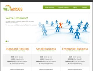 webacross.com screenshot