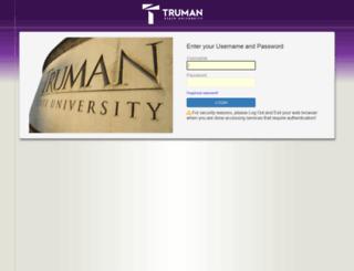 webadmindoc.truman.edu screenshot