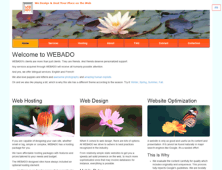 webado.net screenshot