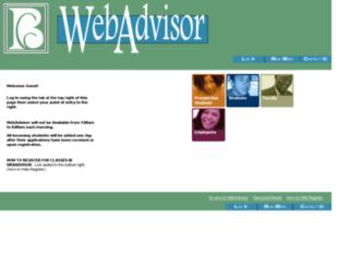 webadvisor.bladencc.edu screenshot