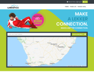 webafrica.com screenshot