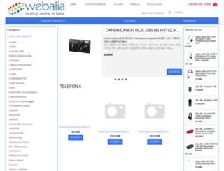 webalia.it screenshot
