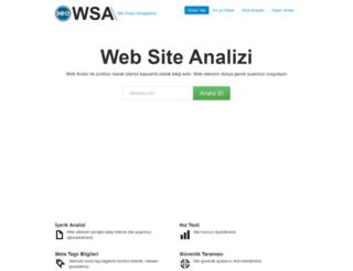 webanaliz.webseoanalizi.com screenshot