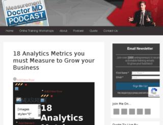 webanalyticsmd.com screenshot