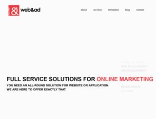 webandad.com screenshot