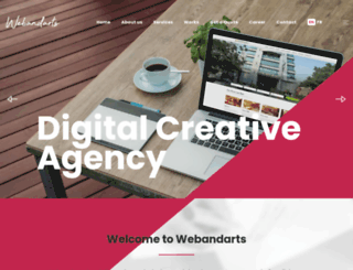 webandarts.com screenshot
