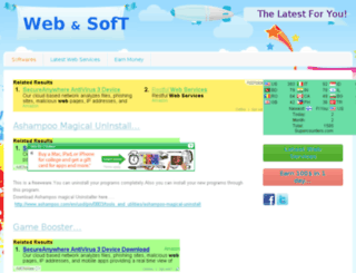 webandsoft.webs.com screenshot