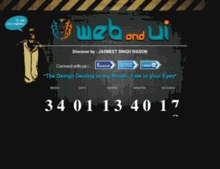 webandui.com screenshot
