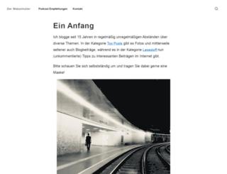 webanhalter.de screenshot