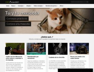 webanimales.com screenshot