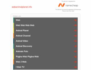 webanimalplanet.info screenshot