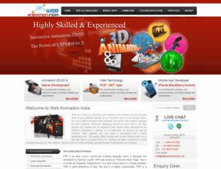 webanimationindia.com screenshot