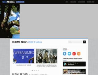 webanimex.com screenshot