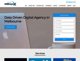 webapex.com.au screenshot
