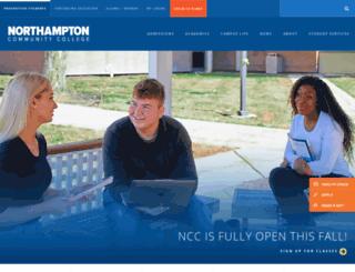 webapp.northampton.edu screenshot