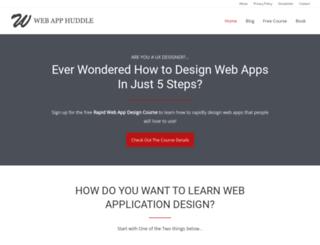webapphuddle.com screenshot