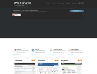 webappskins.com screenshot