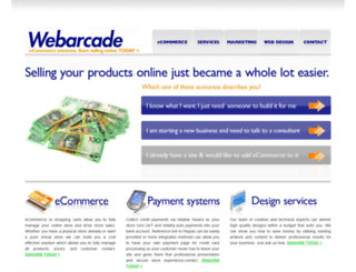 webarcade.com.au screenshot