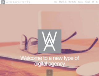 webarchitects.gr screenshot